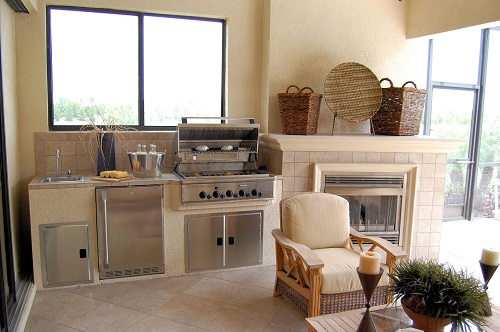 Outdoor Kitchen Home Renovation